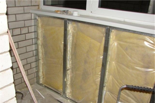 Утепление балкона своими руками - возможно ли?.