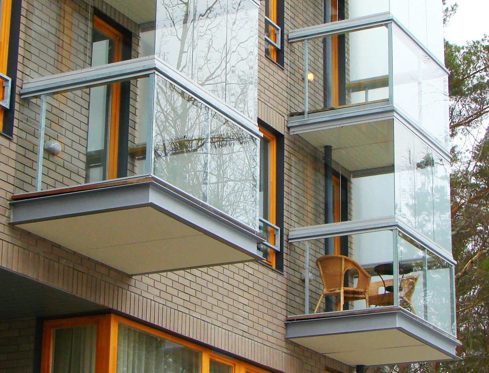 Закрыть балкон снаружи